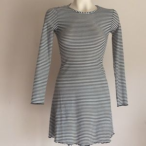 Striped mini dress NWT